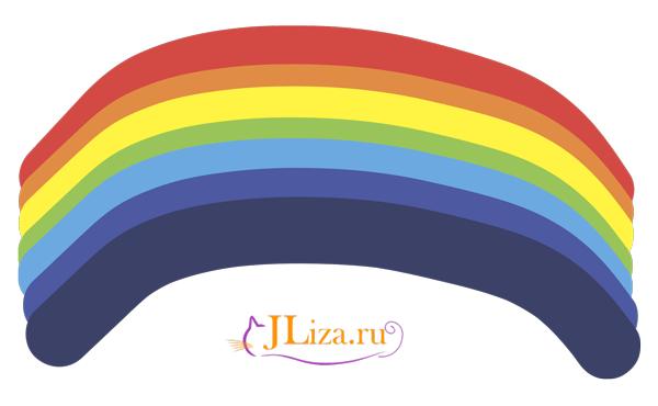 Как запомнить цвета радуги в стихах