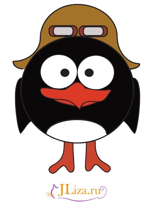 изложенная из смешариков пингвин кадр удачно
