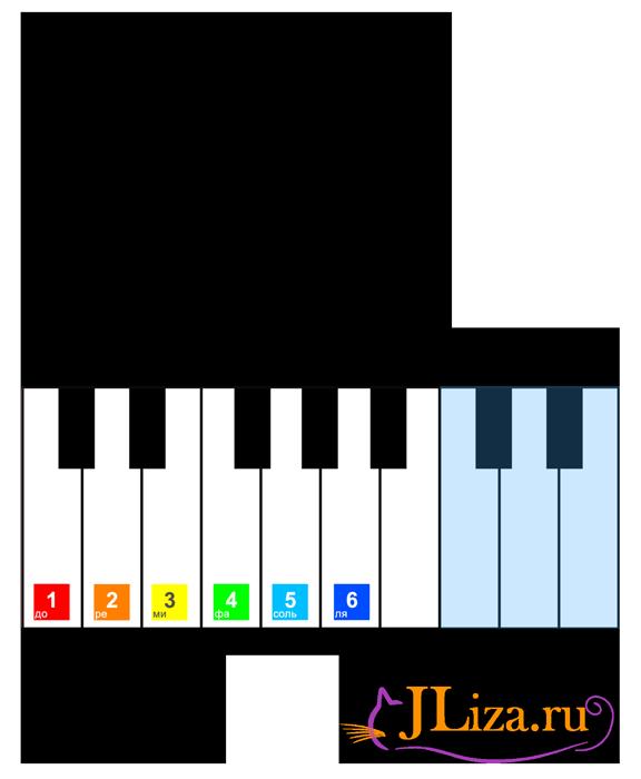 Играть на клавишах в пианино