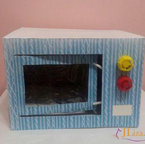 Микроволновка из картона