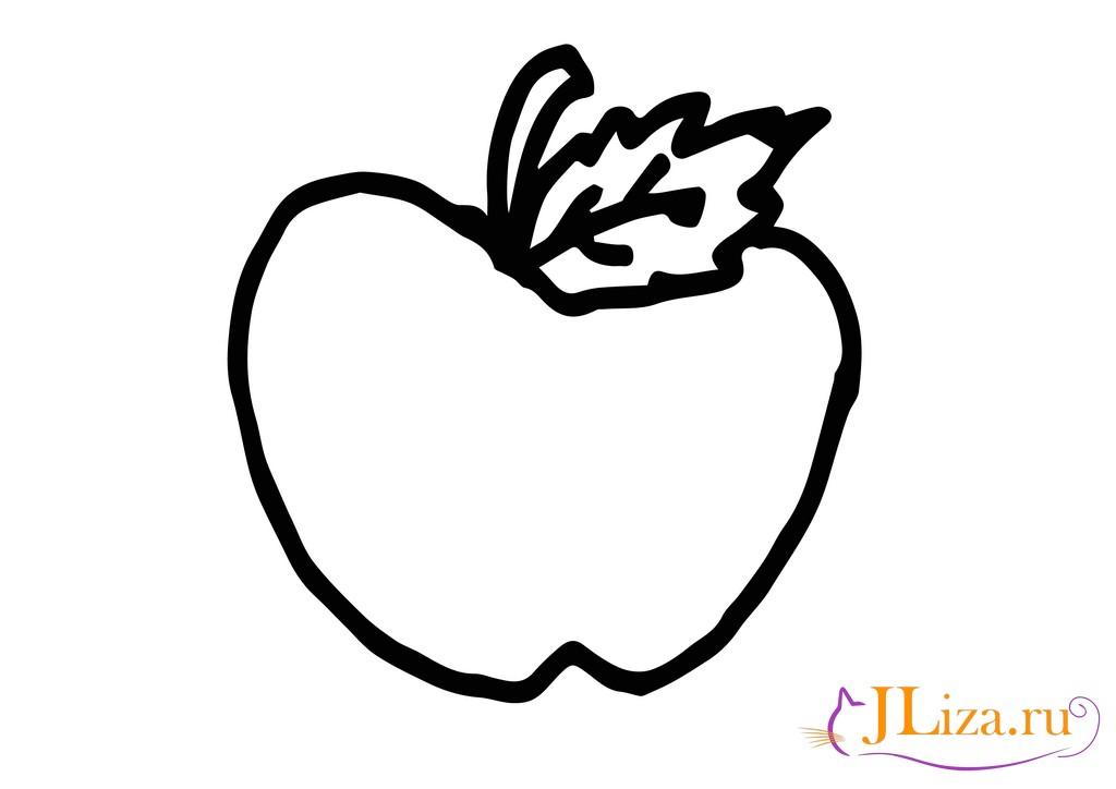 раскраска овощи и фрукты для детей скачать и распечатать
